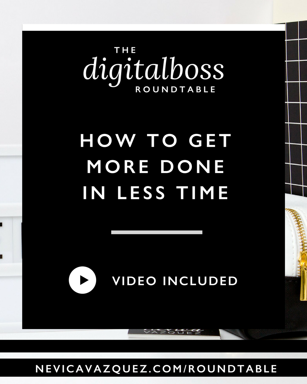 How To Get More Done In Less Time [Roundtable Series with Alexandra Beauregard & Kathryn Brown]