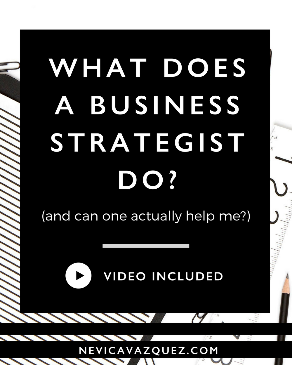 What does a Business Strategist do?
