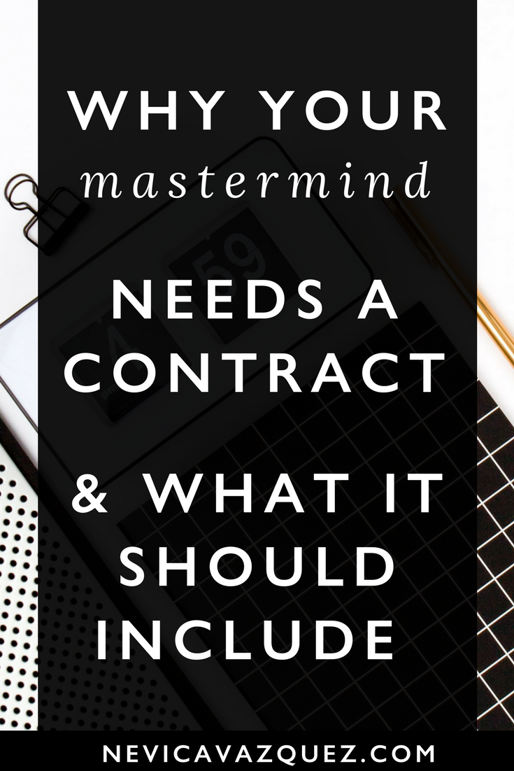 Why Your Mastermind Group Needs a Contract (And What It Should Include)